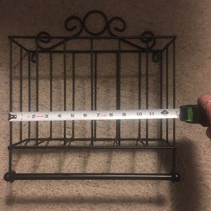 Other - Wrought iron bathroom organizer